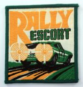Rally Escort - Embroidered Patch